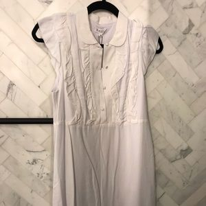 Claudie Perlot white shift dress - NWT!